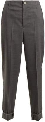 Golden Goose Straight-leg wool chino trousers