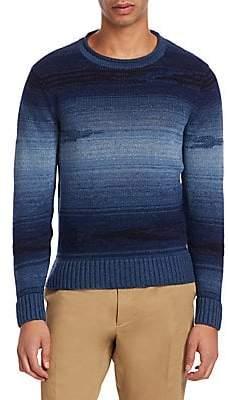 Ralph Lauren Purple Label Men's Ribbed Knit Pullover