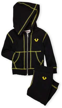 True Religion Infant Boys) Two-Piece Hoodie & Joggers Set
