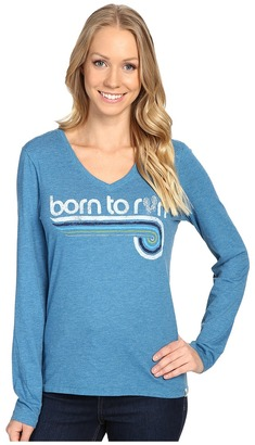 Life is good Born To Run Sneakers Long Sleeve Cool Vee $32 thestylecure.com