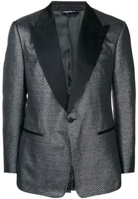 Dolce & Gabbana jacquard blazer