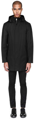 Mackage THORIN 2-in-1 knee-length twill trench coat with hood