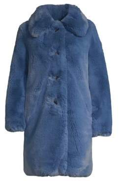 Marc Jacobs Plush Faux Fur Teddy Coat