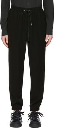 McQ Alexander McQueen Black Tailored Lounge Pants $370 thestylecure.com