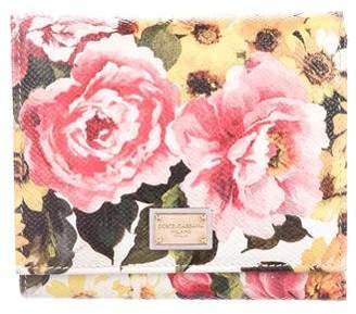 Dolce & Gabbana Floral Bifold Wallet