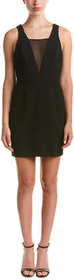 BCBGeneration Chiffon Neck Sheath Dress