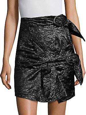 Carmen March Carmen March Women's Carmen March Parachute Silk Mini Skirt