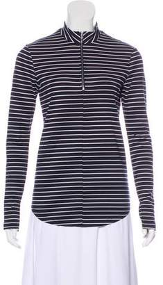 Nomia Striped Long Sleeve Top