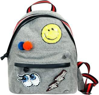 Hannah Banana Mini Emoji & Pompom Backpack