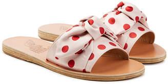 Ancient Greek Sandals Taygete Polka Dot Sandals