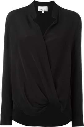 3.1 Phillip Lim silk wrap blouse