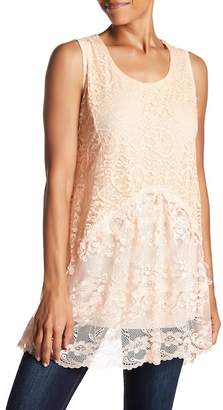 Couture Simply Lace Sleeveless Tank