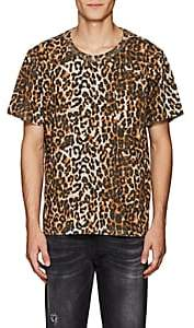 NSF Men's Leopard-Print Cotton T-Shirt