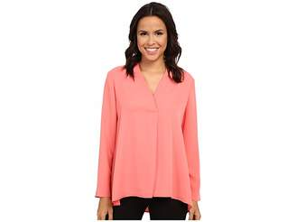 Nic+Zoe Majestic Matte Shirt Women's Long Sleeve Pullover
