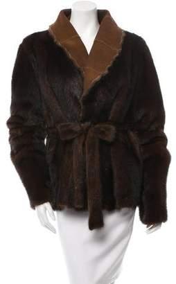 Mink Fur Reversible Jacket