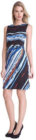 Tahari Petite Sal Print Dress