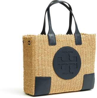 Tory Burch ELLA STRAW MINI TOTE