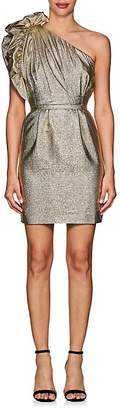 Stella McCartney Women's Polly Metallic One-Shoulder Cocktail Dress
