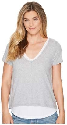 Lilla P Short Sleeve V-Neck Women's Clothing