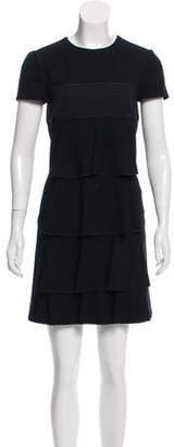 Christian Lacroix Wool Mini Dress