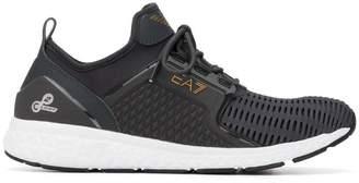 Emporio Armani Ea7 panelled sneakers