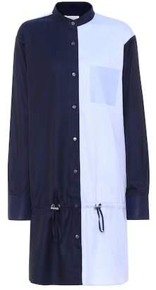 Public School Colorblock cotton shirt dress