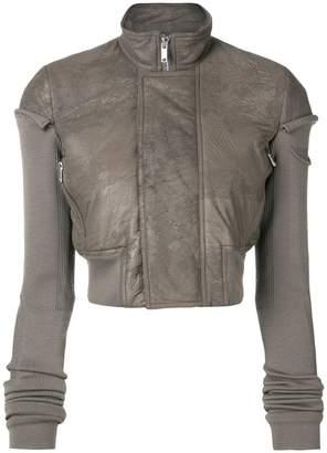 Rick Owens short biket jacket