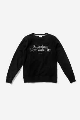 Saturdays NYC Bowery Miller Standard Sweatshirt
