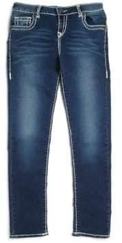 True Religion Girl's Casey Natural Slim-Fit Jeans