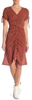 J.o.a. Ruched Midi Dress