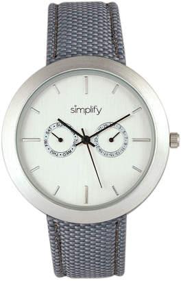 Simplify Unisex The 6100 Watch
