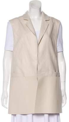 Lafayette 148 Casual Linen Vest