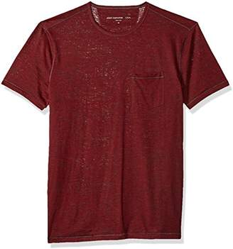 John Varvatos Men's Short Sleeve Crew Neck