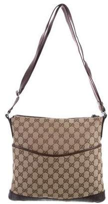 Gucci GG Perforated Messenger