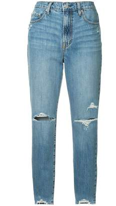 Nobody Denim Frankie distressed tapered jeans