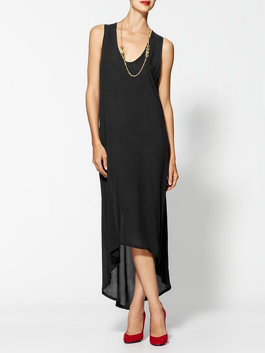 Riller & Fount Lady Maxi Dress With High-Lo Trim