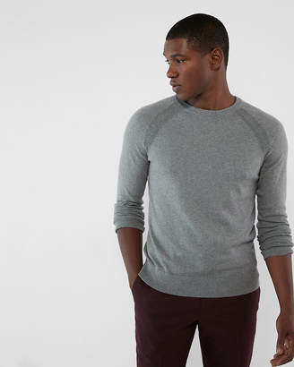 Express Cashmere Blend Crew Neck Sweater