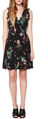 Women's Willow & Clay Floral Minidress $99 thestylecure.com