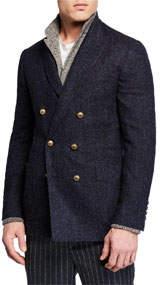 Men's Double-Breasted Blazer