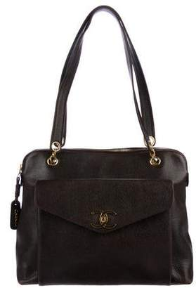 Chanel Caviar CC Shoulder Bag