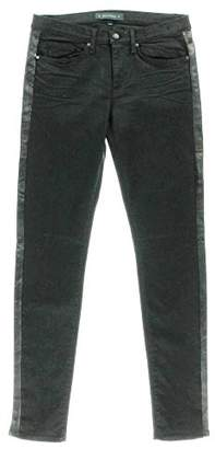 Juicy Couture Women's Leather Inset Skinny Jean