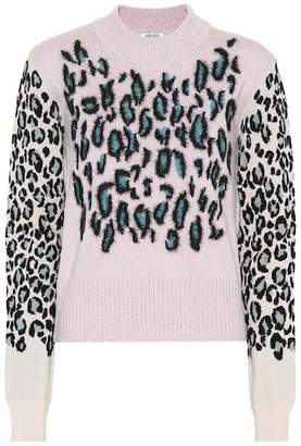 Kenzo Leopard jacquard sweater