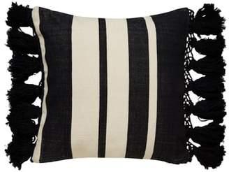 Kate Spade stripe pillow