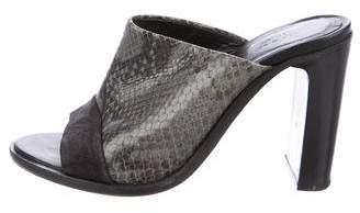 Rag & Bone Tristan Embossed Leather Mules