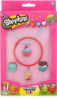 Michael Kors Shopkins Paint Cupcake-Cord Lollie Bangle Jelly and Cheeky Ring Jewelry Set