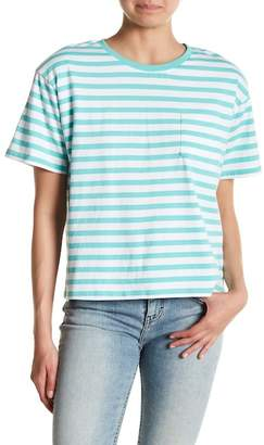 Abound Shoulder Pad Stripe Pocket Tee