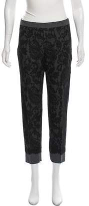Andrew Gn Virgin Wool Straight-Leg Pants