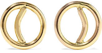 Melissa Joy Manning 14-karat Gold Earrings