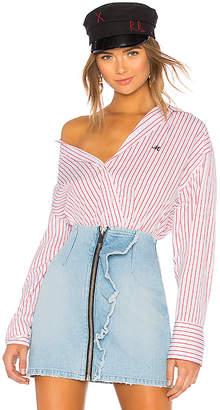 MSGM Popeline Oversize Shirt