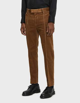 Undercover Pleated Corduroy Trouser
